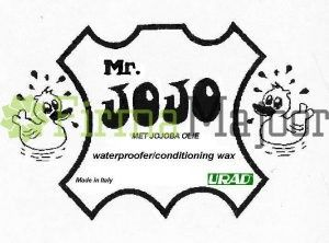Mr.Jojo logo van de pot leervet