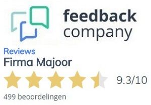reviews Majoor Bussum Urad en Wiro bij feedback company
